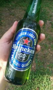 Безалкогольное пиво Heiniken
