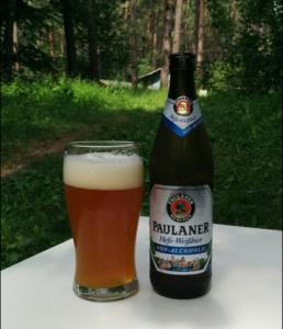 Безалкогольное пиво Paulaner