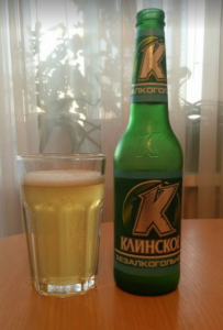 Безалкогольное пиво Клинское