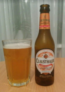 Безалкогольное пиво Clausthaler нефильтрованное